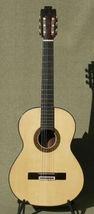 Arias Guitar Flamenco Negra